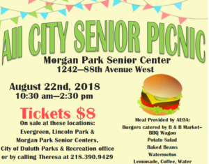 All City Senior Picnic @ Morgan Park Senior Center