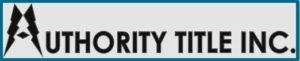 Authority Title Logo
